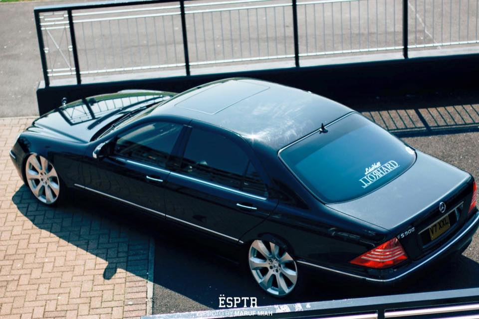 The OG – ADAM\'S BAGGED MERCEDES-BENZ S CLASS